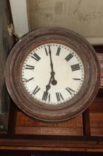 Late Victorian Railway/Street Clock,