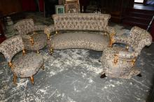 Fine 19th Century French Lounge Suite,