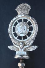 Vintage Car Badge for The Royal Automobile Club,