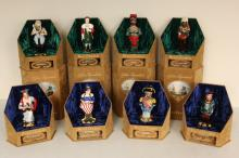 Set of Eight Royal Doulton Ships Figureheads,