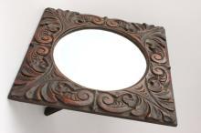 English Oak Mirror,
