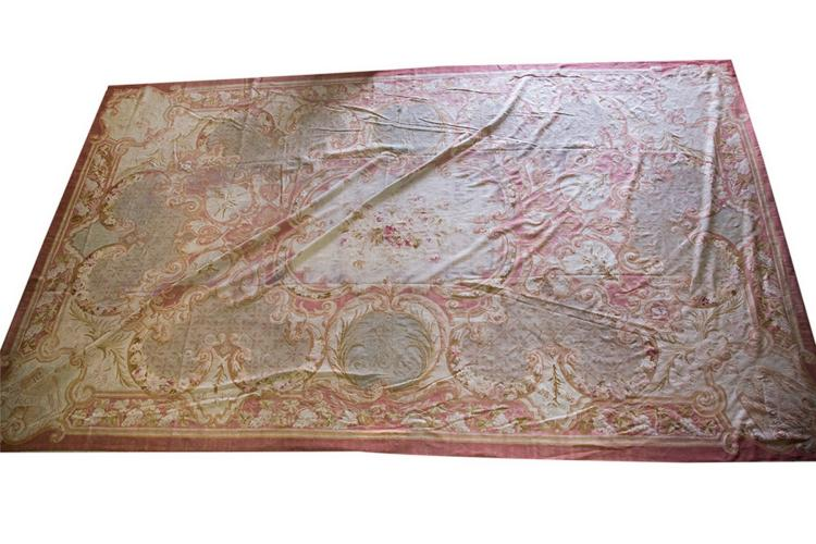 EUROPEAN FLORAL TAPESTRY