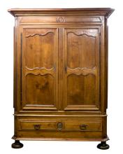 FRENCH WALNUT LINEN PRESS
