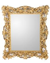 FRENCH GILT CARVED MIRROR