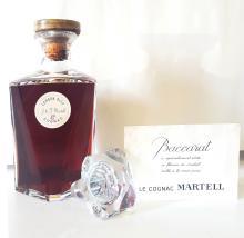 J.&F. MARTELL CORDON BLEU  EN CARAFE CRISTAL BACCARAT France, Cognac