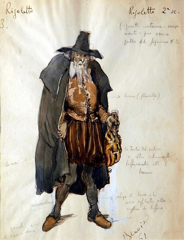 NIKOLAI ALEXANDROVICH BENOIS (1901-1988) Etude de