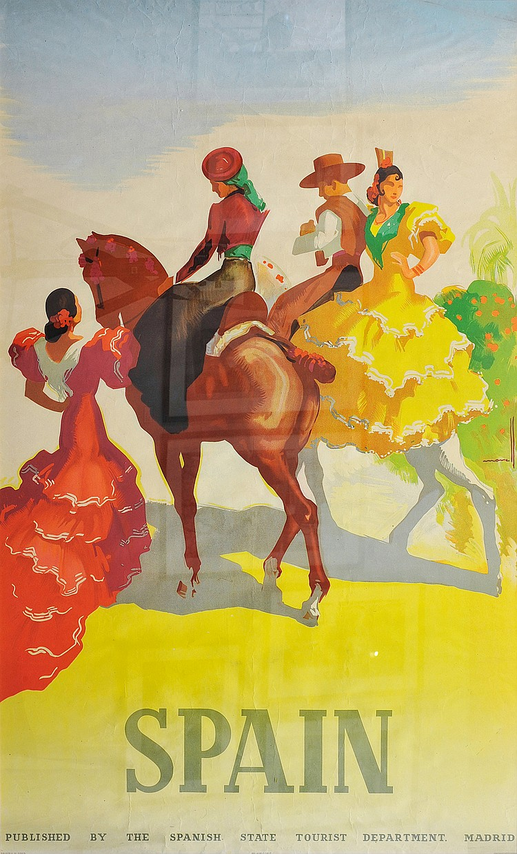 JOSEP MORELL MARCIAS (1899-1949) « Spain »