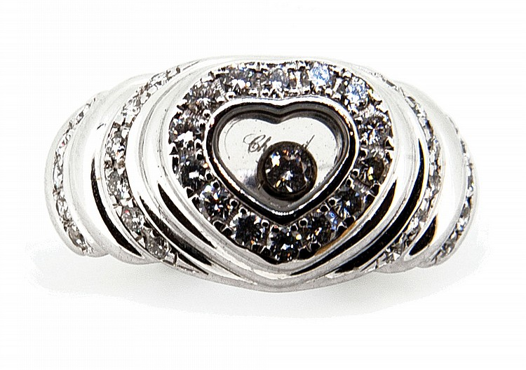 CHOPARD, BAGUE HAPPY DIAMOND