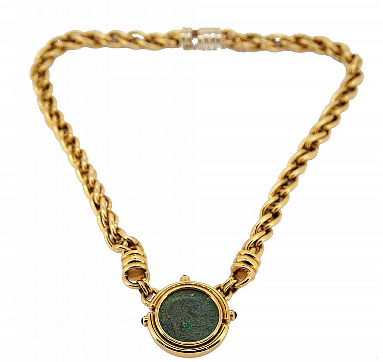 COLLIER MEDAILLON