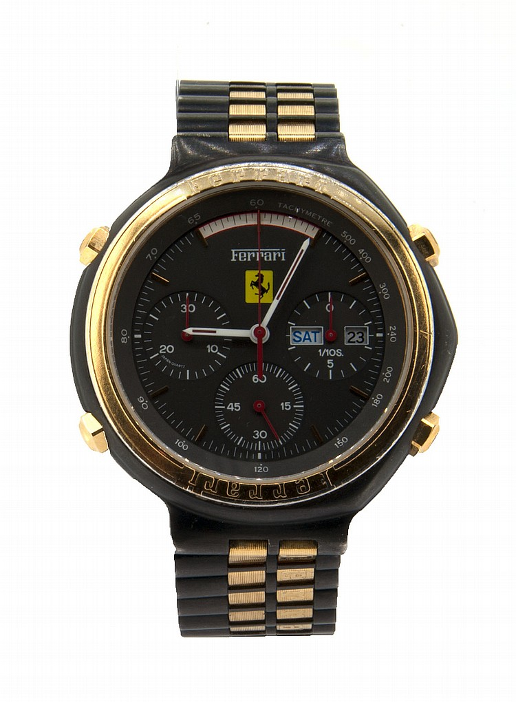 FERRARI - CHRONOGRAPHE PILOTE BY CARTIER GROUP