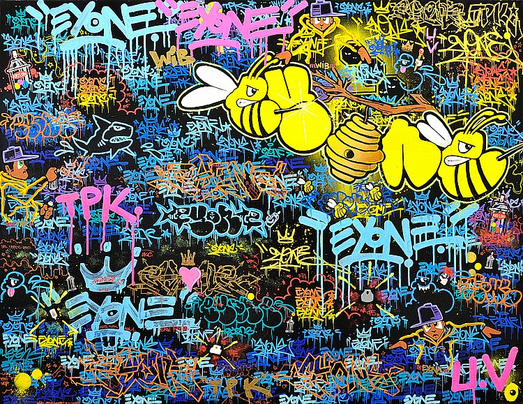 EYONE « Killer Bees », 10 juin 2016