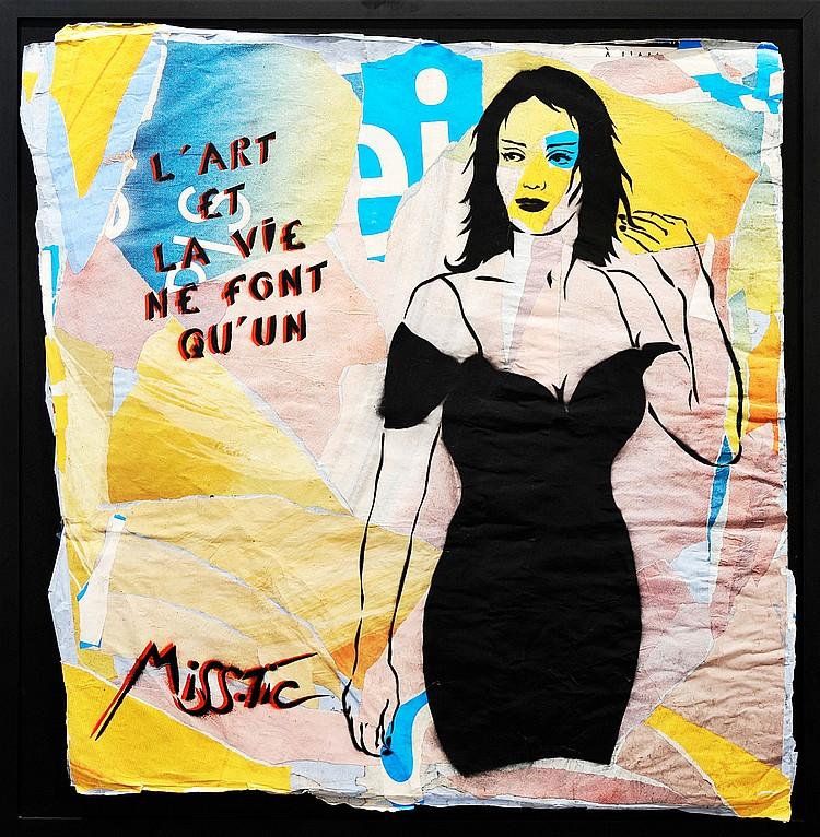 MISS TIC « L'Art et la Vie ne font qu'un », 2011