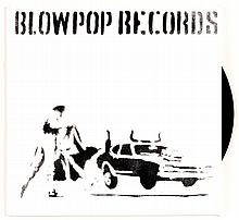 BANKSY  « Blow Pop Records », 1999