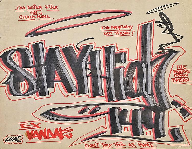 STAY HIGH 149 « Sans titre », 2001