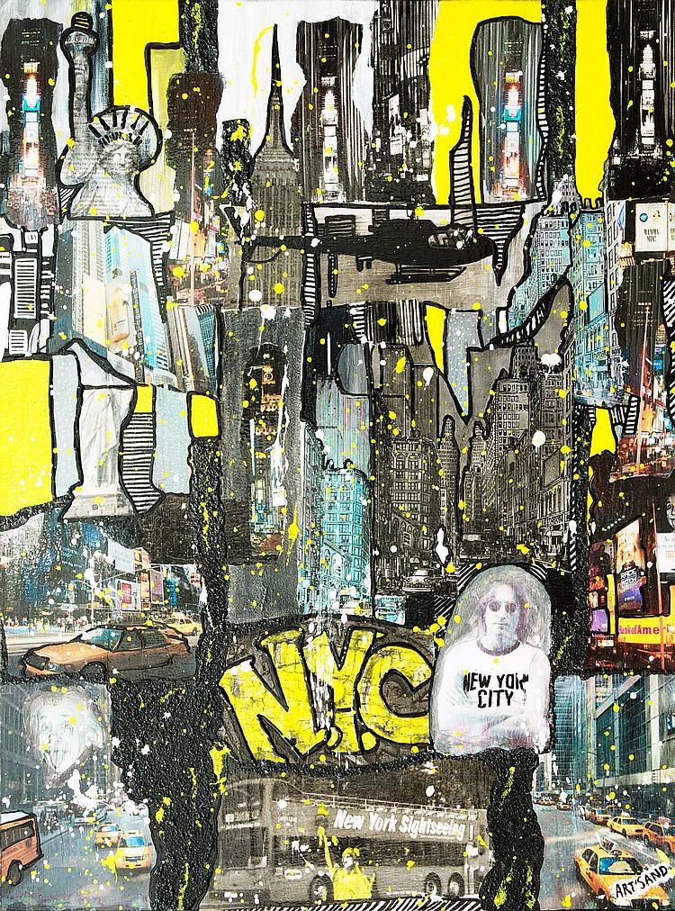 ART SAND « NYC », 2015