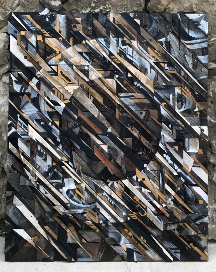 Vincent Abadie Hafez Aka Zepha « Bastille Day », « Hommage », 2016