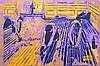 ARTISTE OUVRIER  « Raboteurs violets » d'après Caillebotte, 2013, ARTISTE OUVRIER, €1,200