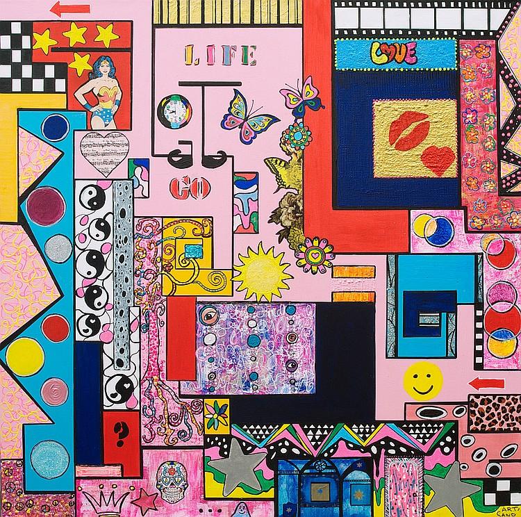 ART SAND « Labyrinthe de la Vie », 2016