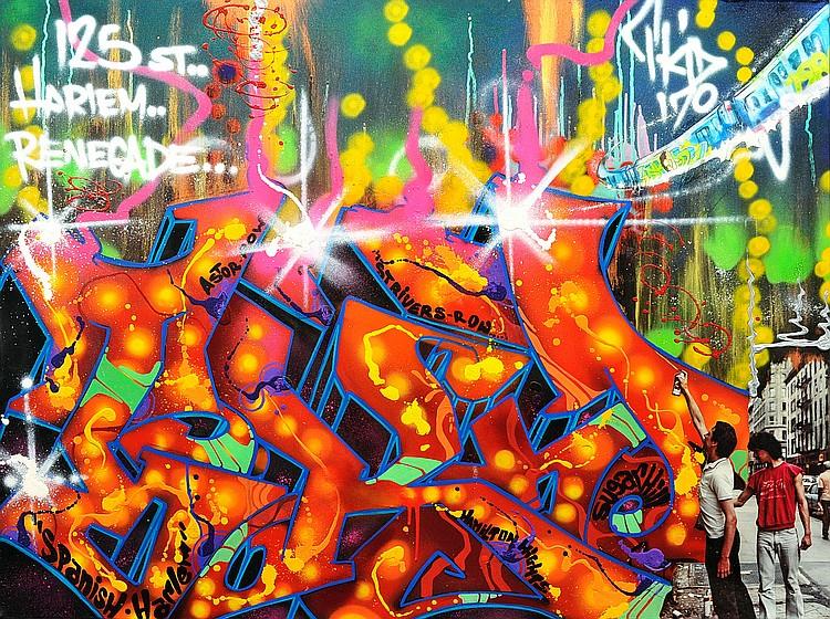 T-KID « 125 St Harlem Renegade », 2016