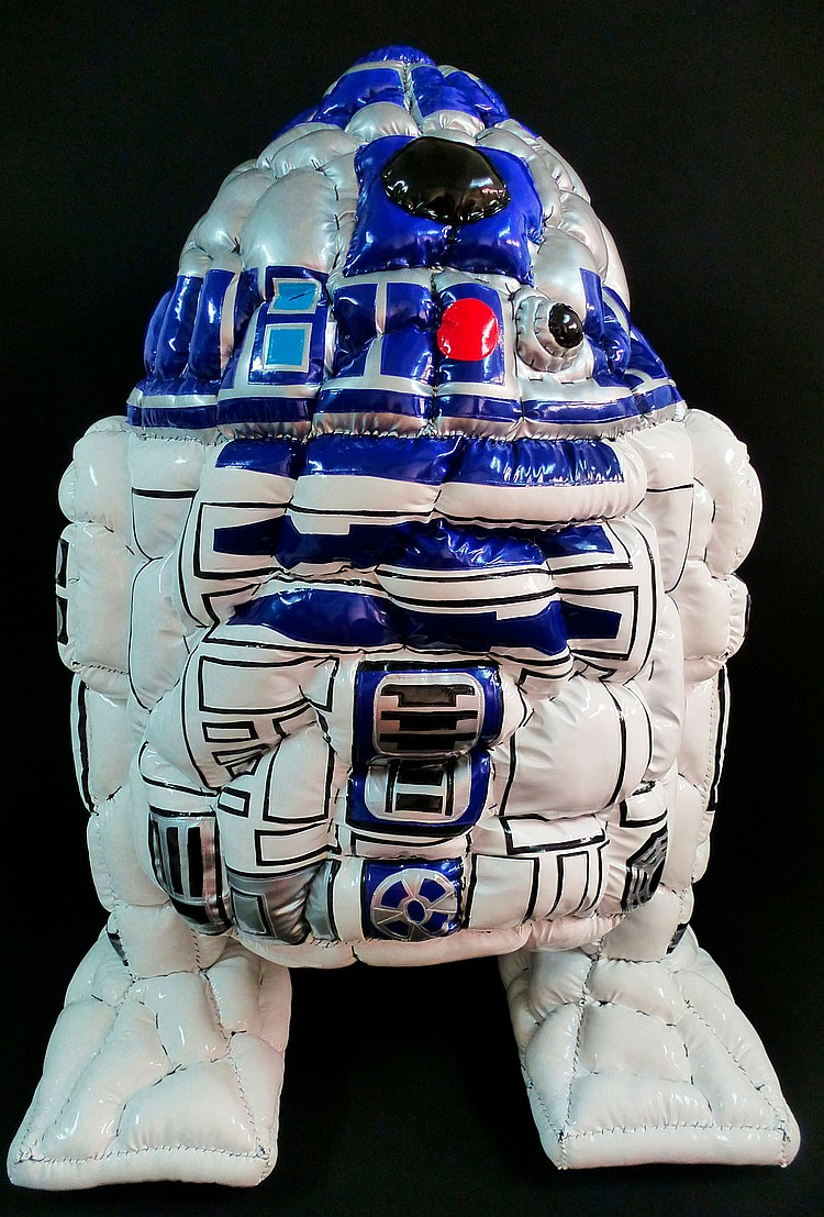 DAVID GOUNY  « R2D2 contaminated by a Fat Virus », 2016