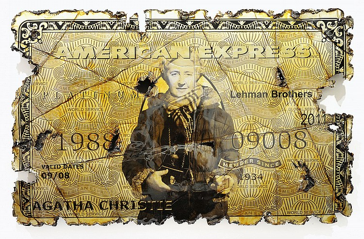 ANDREA FRANCOLINO  « Murder On The American Express », 2011