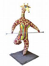 HERVE FREZAL « La Girafe », ca.1970