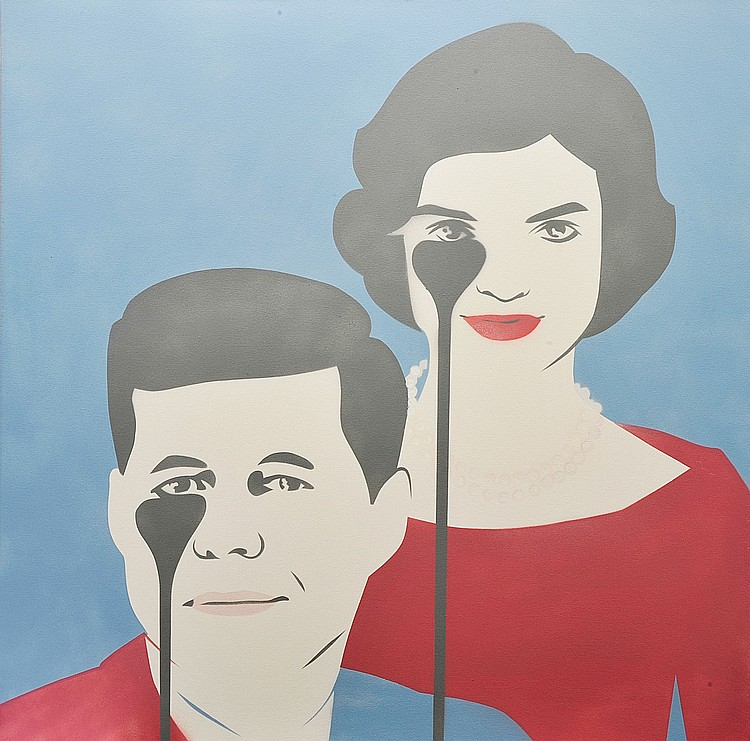 PURE EVIL  « JFK and Jackie », 2016