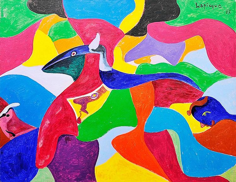 CHARLES LAPIQUE « Minos », 1987