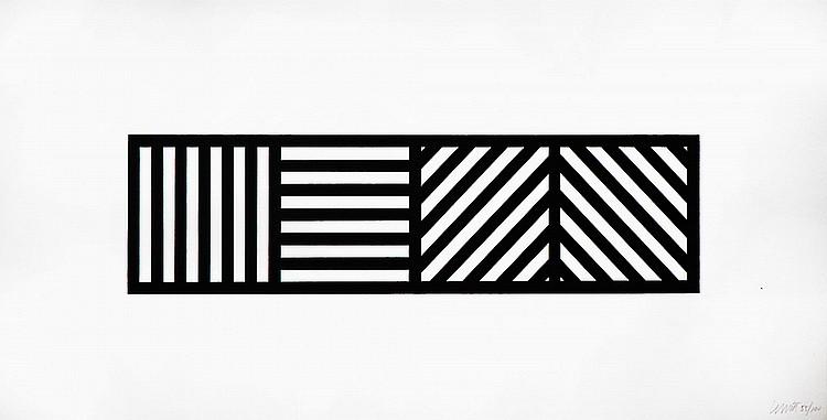 SOL LeWITT « Composition géométrique »