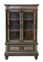 FERDINANDO POGLIANI (1852-1899), ATTRIBUE Important meuble vitrine