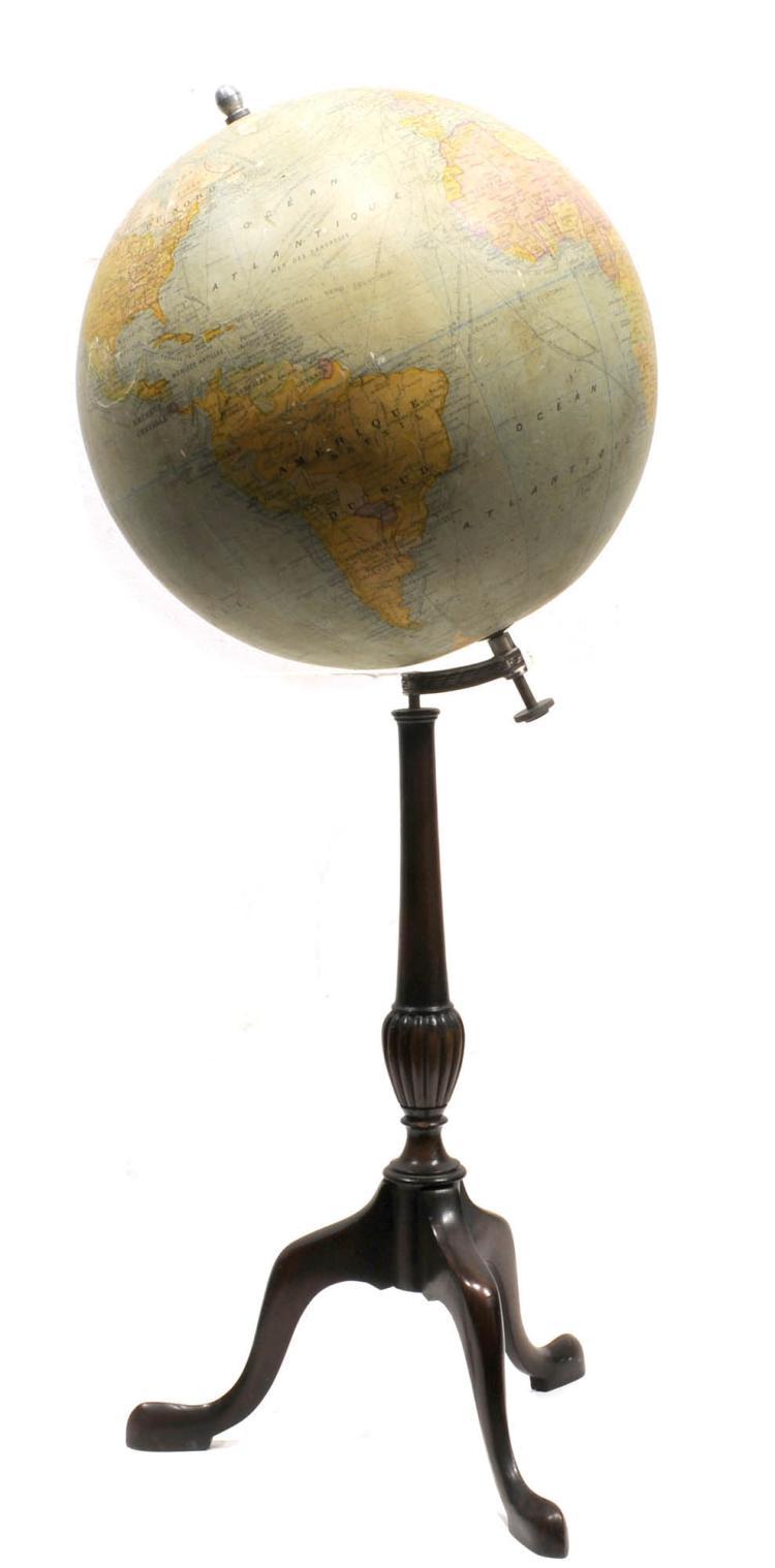elegant globe terrestre. Black Bedroom Furniture Sets. Home Design Ideas