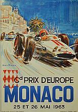 MICHEL BELIGOND (1927-1973)  Grand Prix d' Europe 1963