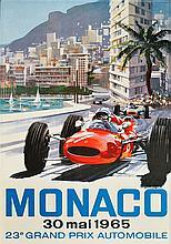 MICHAEL TURNER (1934)  23eme Grand Prix Automobile, Monaco 1965