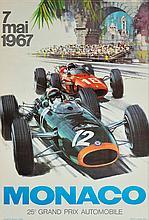MICHAEL TURNER (1934)  25eme Grand Prix Automobile, Monaco 1967