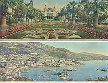 JEAN GILETTA (1856-1933)  Vues de Monaco