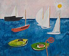 ENRICO PAULUCCI (1901-1999)  Marine au soleil