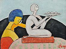 C. REMY (Ecole Hollandaise 20eme)  La sculpture Art-Deco