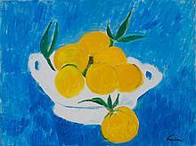 ENRICO PAULUCCI (1901-1999)  Nature morte aux oranges
