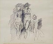 ENNIO MORLOTTI (1910-1992)  Trois figures