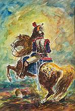 GIOVAN FRANCESCO GONZAGA (1921-2007)  Cuirassier de la Garde Imperiale