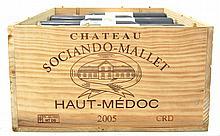 Chateau SOCIANDO-MALLET 2005