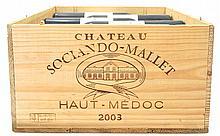 Chateau SOCIANDO-MALLET 2003