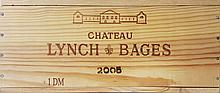 RARE DOUBLE MAGNUM Chateau LYNCH-BAGES 2005
