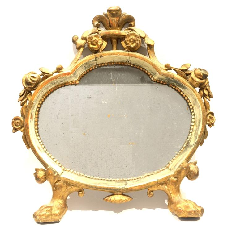 Miroir de style louis xv for Miroir louis xv