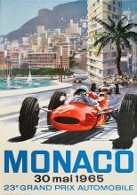 MICHAEL TURNER (1934) 23ème Grand Prix Automobile, Monaco 1965