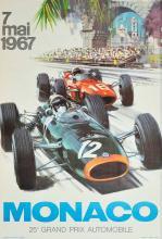 MICHAEL TURNER (1934) 25ème Grand Prix Automobile, Monaco 1967
