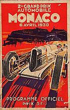 DEUXIEME GRAND PRIX AUTOMOBILE DE MONACO, 1930