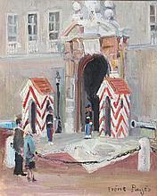 IRENE PAGES (1934) Vue de la Porte du Palais Princier de Monaco