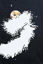 RENE GRUAU (1909-2004) Miss Dior, vers 1990