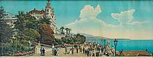 JEAN GILETTA (1856-1933) Vue panoramique de Monaco